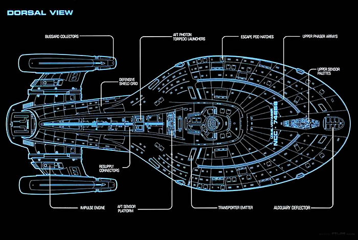 Schematics - TrekCore 'Star Trek: VOY' Screencap & Image Gallery on